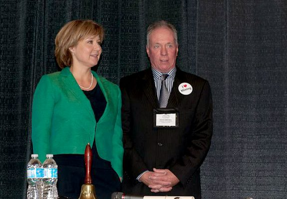 KBC Kevin Brown Communications Events - with Premier Christy Clark