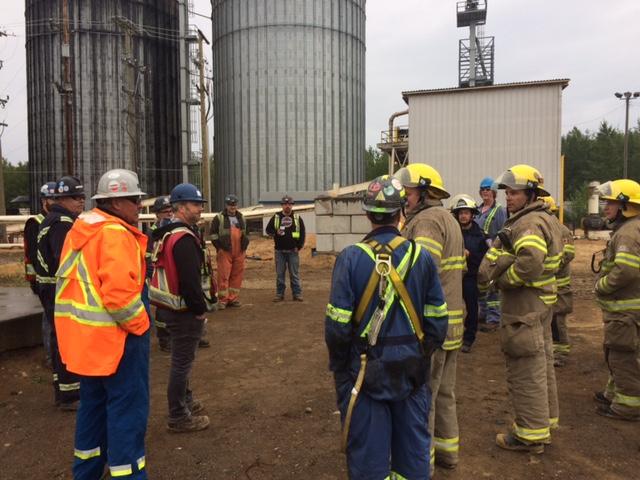 Emergency Communications Plan - Bio Energy Pellet Fire
