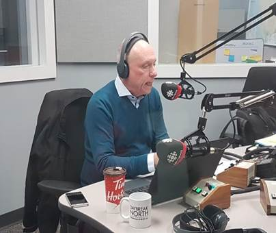 Kevin Brown Communications CBC Daybreak North
